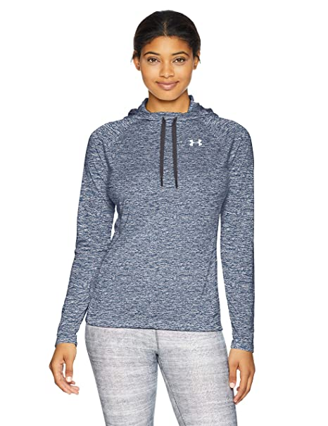Amazon.com  Under Armour Women s Tech Long Sleeve Twist Hoodie ... a88842f91