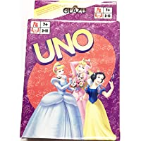 GLAZU New Style Generic Uno Game Cards (2 Sets in one Pack) (Snow White)