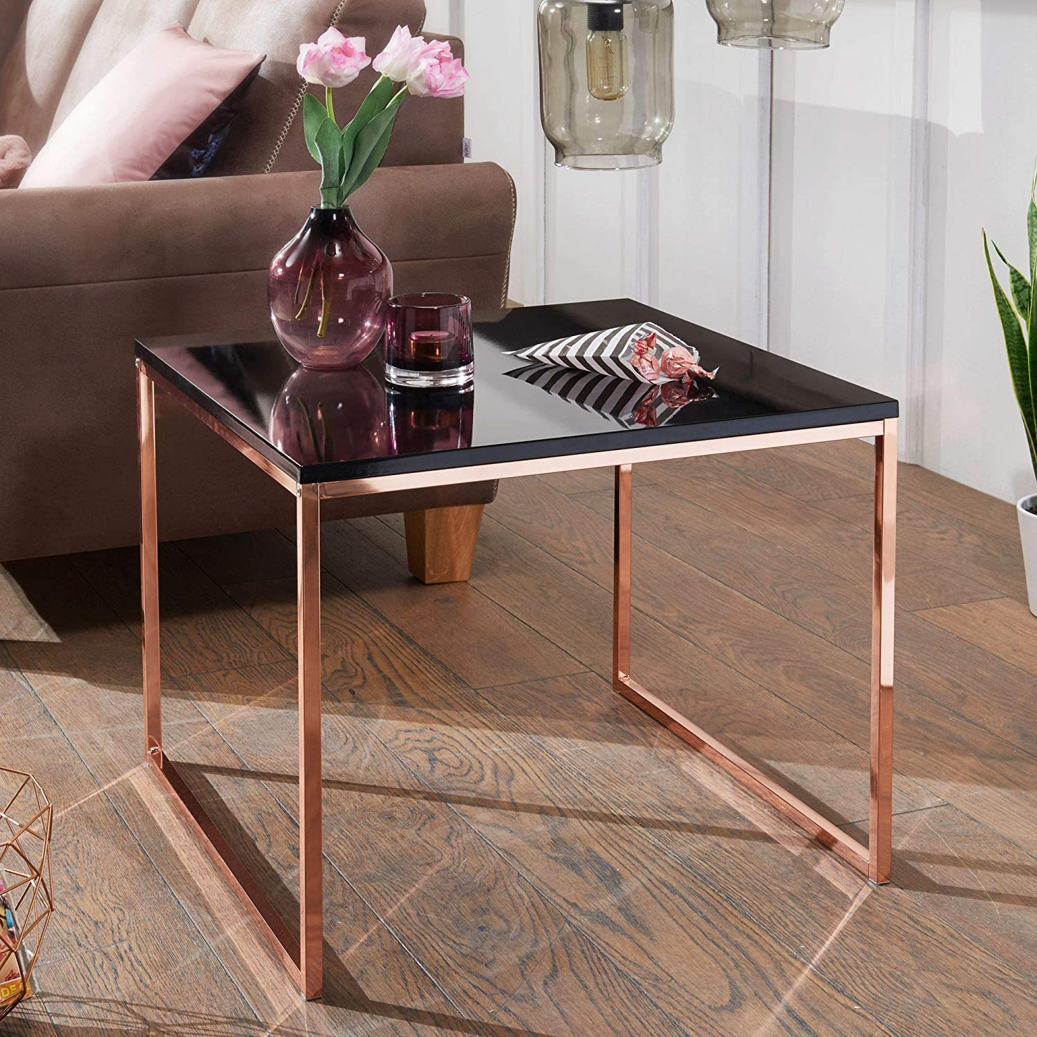 Table Basse Table De Salon Carre Finebuy Design Table Metal