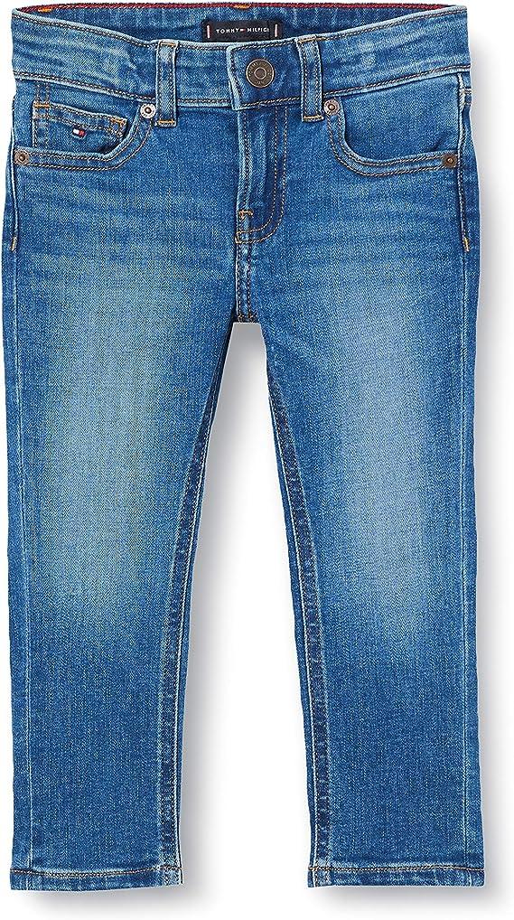 Tommy Hilfiger Baby-Jungen Scanton Slim Mlst Jeans