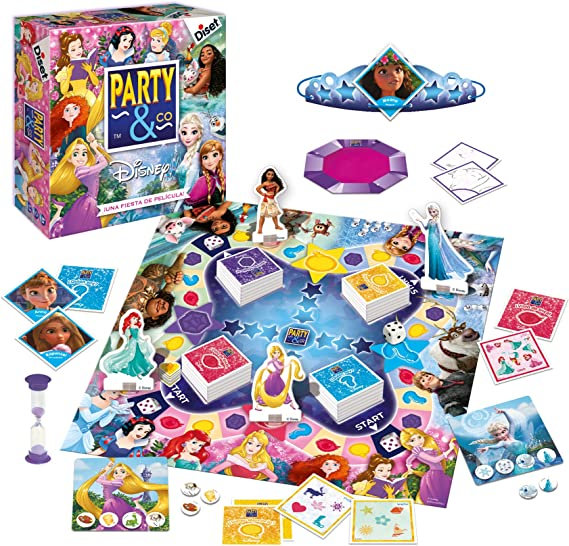Diset - Party & Co Disney princesas (46506): Amazon.es: Juguetes y juegos