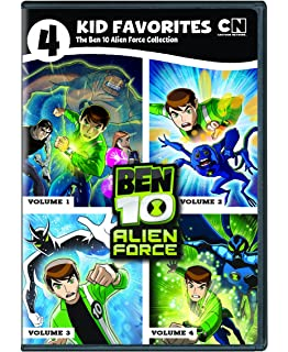 Amazon ben 10 alien swarm ryan kelley nathan keyes alyssa 4 kid favorites cartoon network classic ben 10 alien force voltagebd Image collections