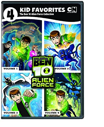 Amazon 4 kid favorites cartoon network classic ben 10 alien 4 kid favorites cartoon network classic ben 10 alien force voltagebd Gallery