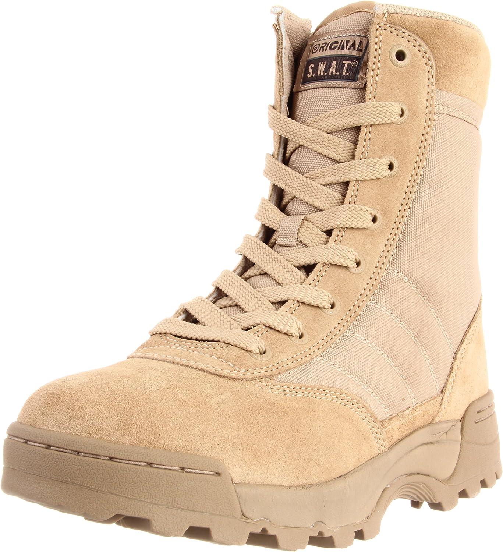 Original S.W.A.T Mens Classic 9 Side Zip Work Boot