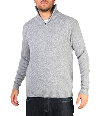 L Bekleidung & Schutzausrüstung Troyer-Pullover mit Reißverschluss marine Gr Funsport