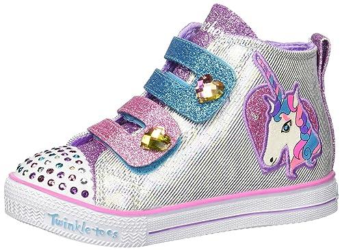 Skechers Twinkle Toes: Shuffle Lite Unicorn Love