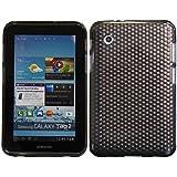 Luxburg® Housse Etui Coque Samsung Galaxy Tab 2 7.0 silicone case TPU Gris anthracite