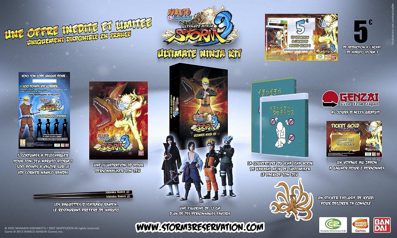 Naruto Ultimate Ninja Kit (Ps3) [Importación Francesa ...