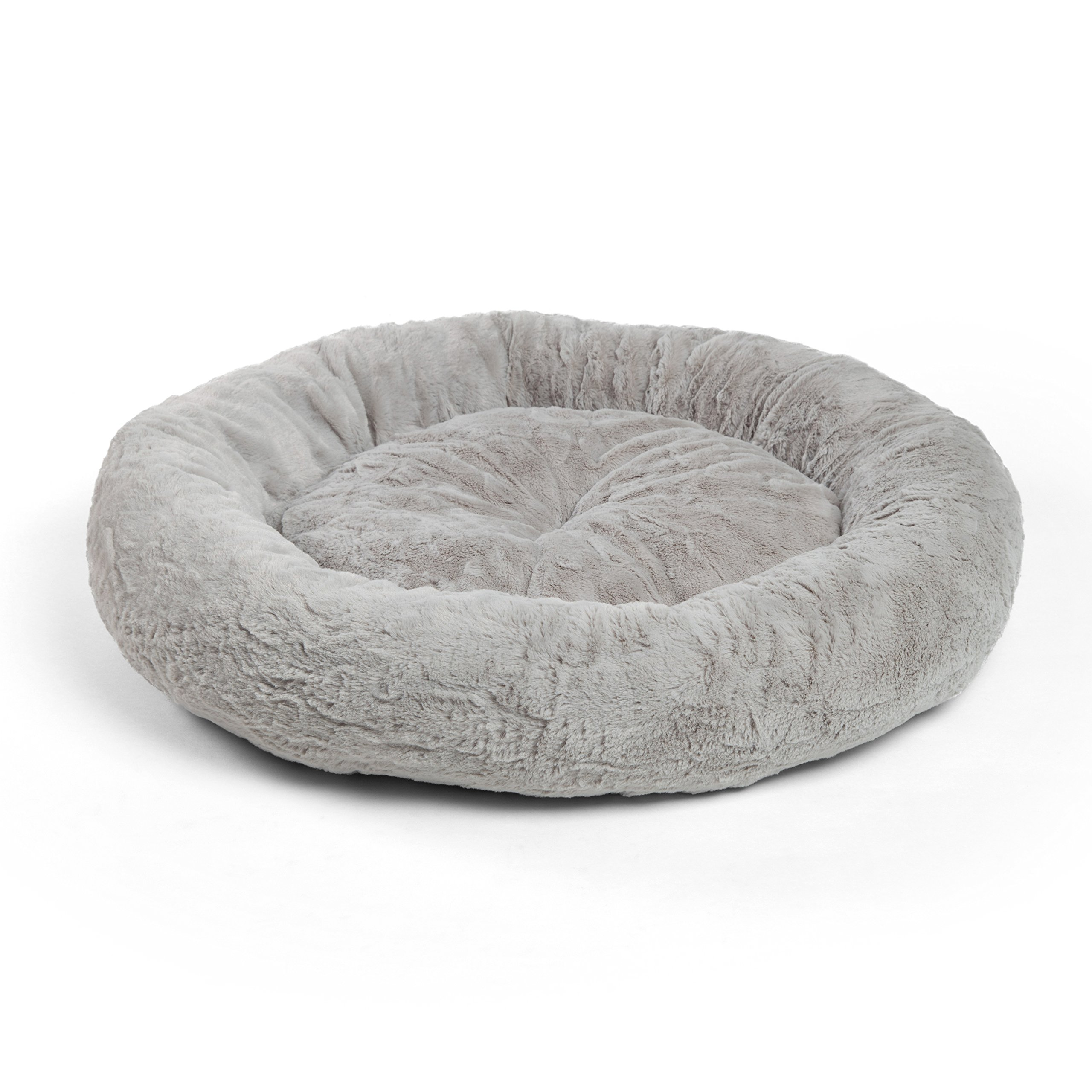 Best Friends by Sheri DNT-LUX-GRY-3030 Donut Cuddler, Gray, Medium by Best Friends by Sheri (Image #1)