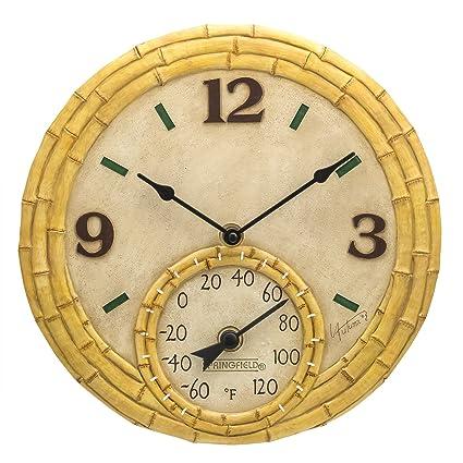 Amazon.com: Springfield - Reloj con termómetro de ...
