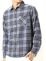 (アーケード) ARCADE 秋 無地 チェック ネルシャツ メンズ 選べる 無地 チェックシャツ ネルチェックシャツ