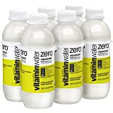 vitaminwater zero squeezed bottles, 16.9 fl oz (Pack of 6)