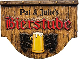 product image for Piazza Pisano German Bierstube Personalized Beer Sign