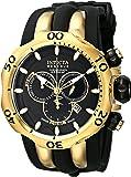 Invicta Men's 10833 Venom Reserve Chronograph Black Dial Watch