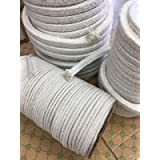 KT Refractories Ceramic Fiber Square Braided Rope 31-1/4lb 150ftX1'X1'