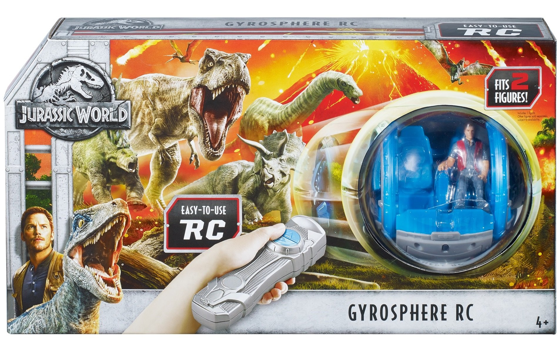 Jurassic World Gyrosphere RC Vehicle by Jurassic World Toys (Image #6)