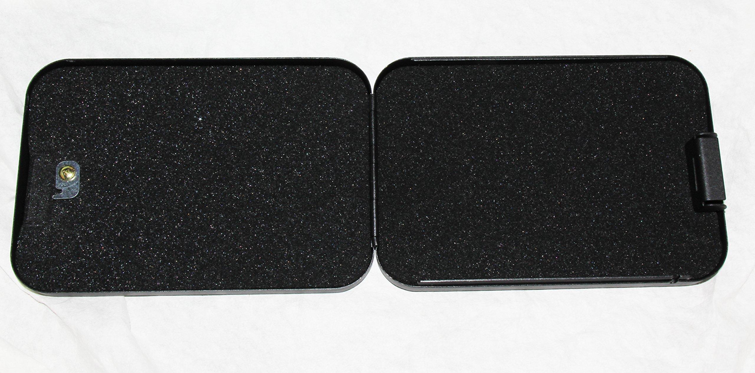 Gun Safety solutions Full Size Handgun Safe Vault Security Pistol Case Key Lock Box