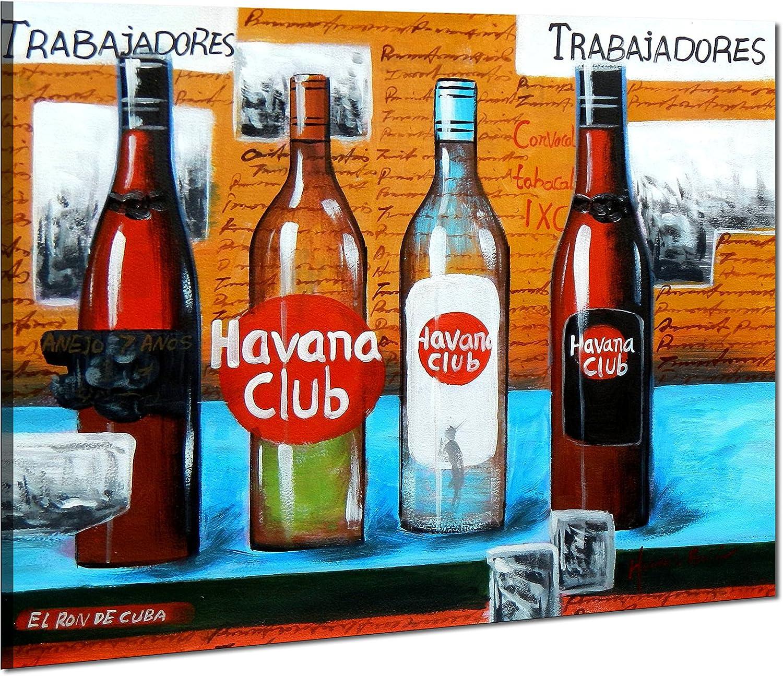 elOleo 90315 a Cuba Havana Club Party 50 x 60 Pintura al óleo ...