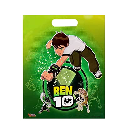 BEN 10 SMALL PARTY BAG COMBO Pack Of 50 Pcs By STICKER BAZAAR Amazonin Office Products