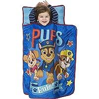 PAW Patrol Toddler Boy's Pre-School Roll Up Nap Mat Fleece Blanket Pillow Set