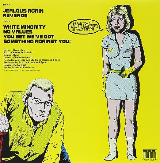 Black Flag Jealous Again Vinyl Amazon Music