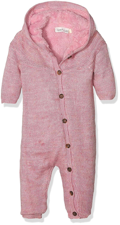 NAME IT Baby-Mädchen Schneeanzug Nitmie Knit Wholesuit Mznb