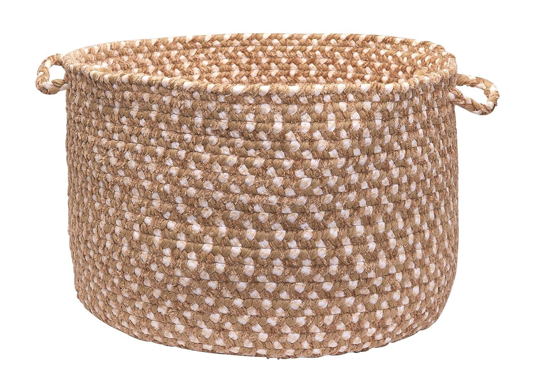 Colonial Mills BK19A014X010 Blokburst Storage Basket, 14x14x10, Natural Wonder