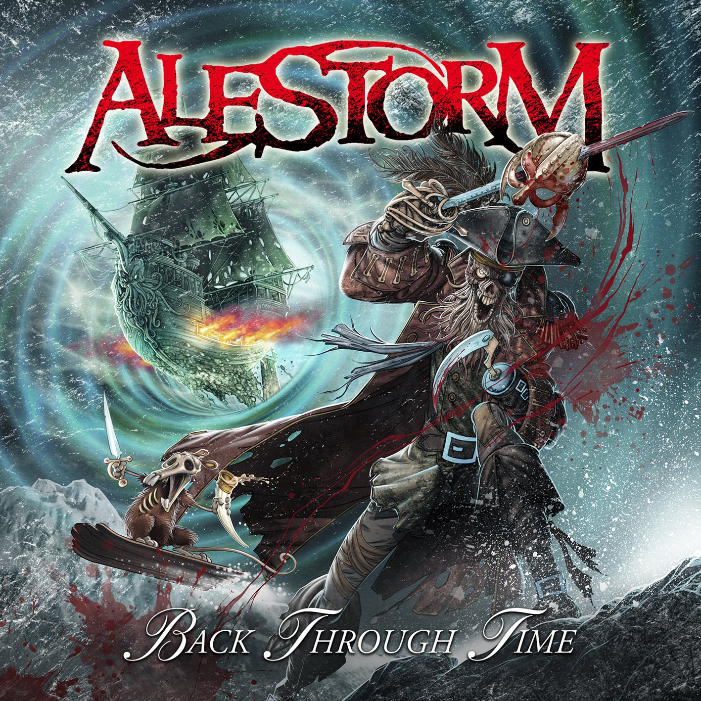 CD : Alestorm - Back Through Time (CD)