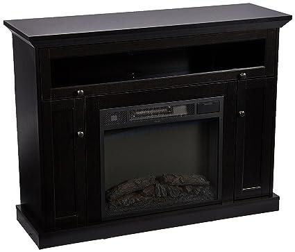 Amazon Com Home Source Tv12355 Fp101 Plasma Tv Stand Fire Place