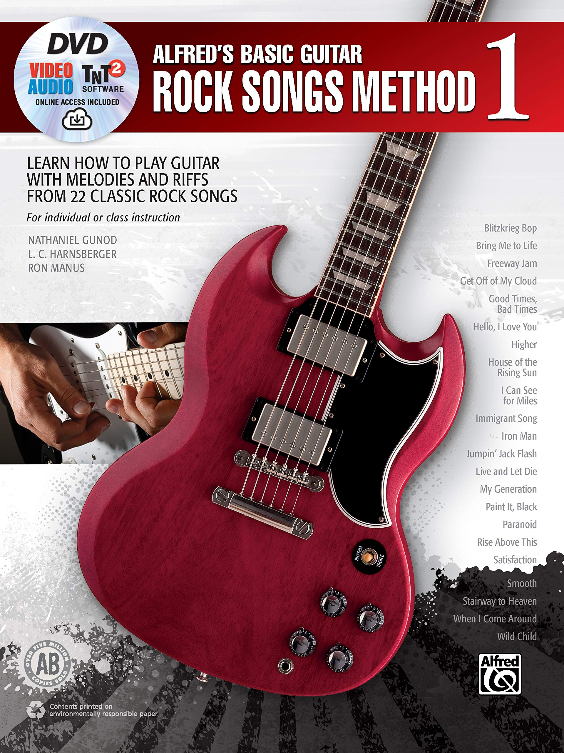ALFREDS BASIC GUITAR ROCK SONG: 1 Alfreds Basic Guitar Library ...