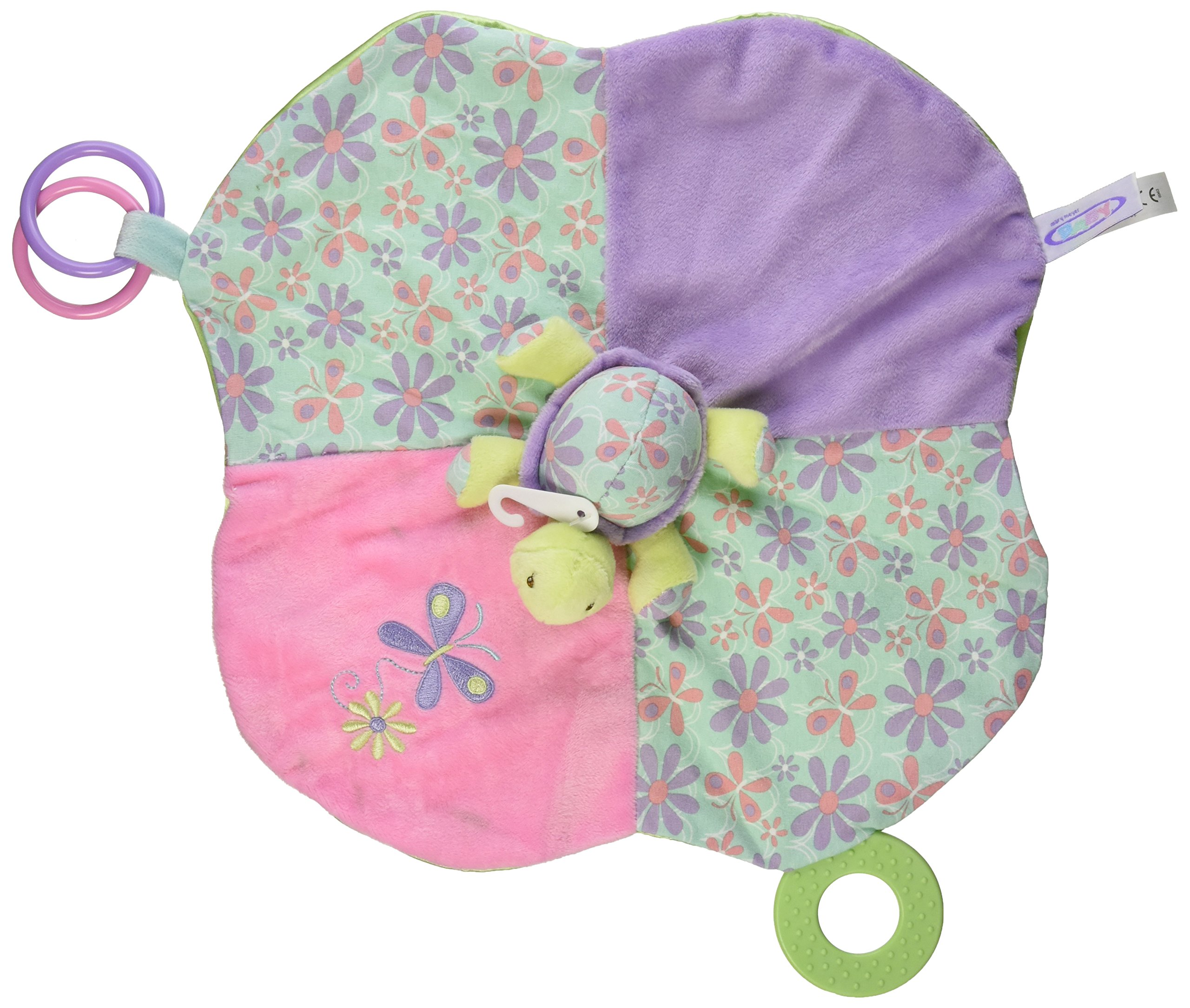 Amazon Com Mary Meyer Tessa Turtle Soft Rattle Baby