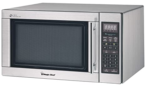 Amazon.com: Magic Chef mcd1611st inoxidable Microondas, 1100 ...