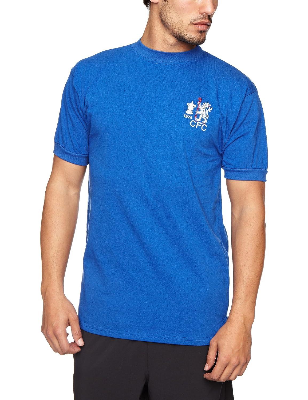 67e25b077 Score Draw Official Retro Chelsea 1970 FA Cup Winners Men's Football Shirt