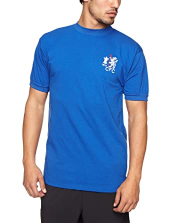 f6b710afed7 Score Draw Official Retro Chelsea 1970 FA Cup Winners Men's Football Shirt:  Amazon.co.uk: Sports & Outdoors