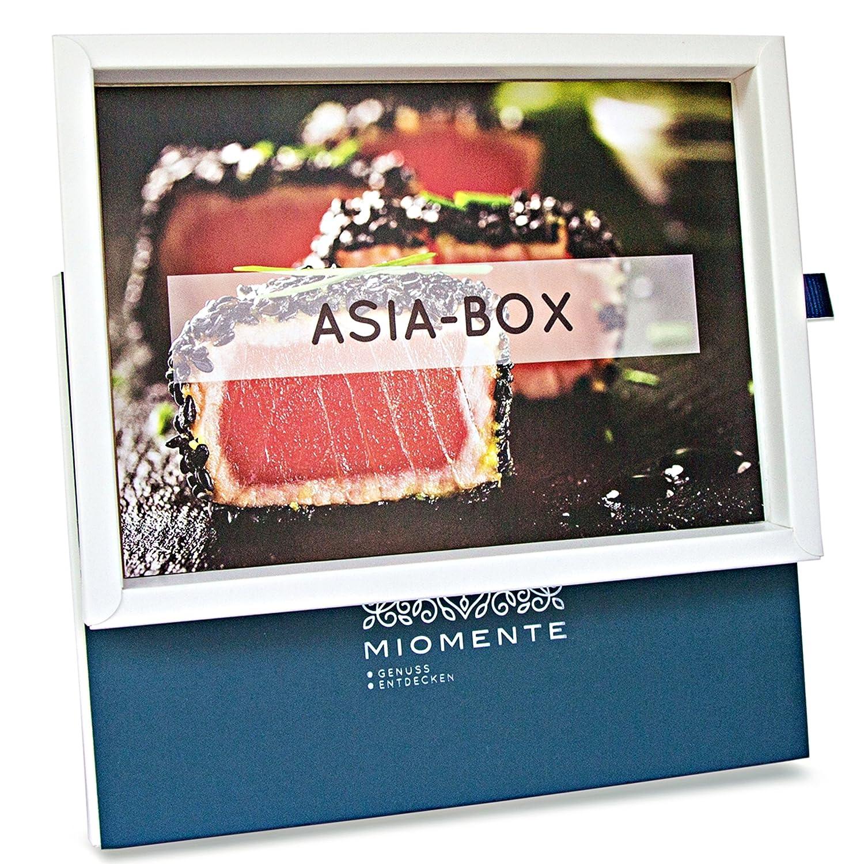 Miomente ASIA-Box: Asia-Kochkurs Gutschein - Geschenk-Idee Erlebnisgutschein