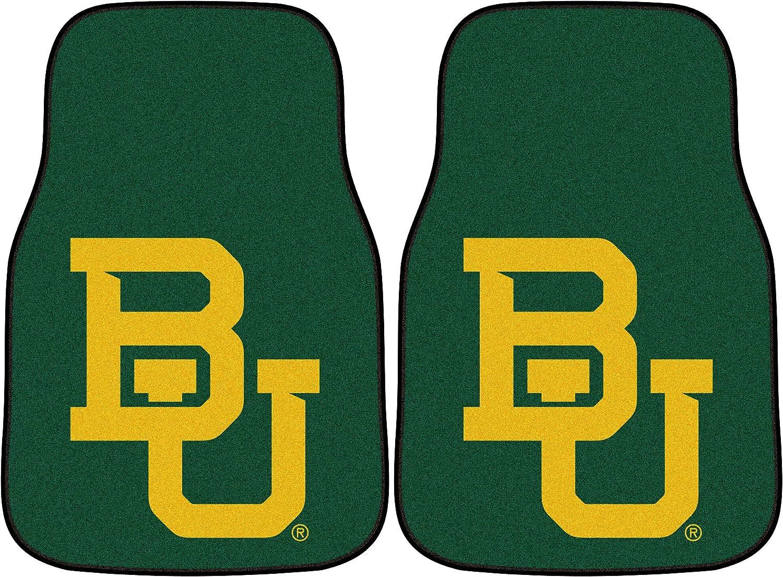 FANMATS NCAA Baylor University Bears Nylon Face Carpet Car Mat