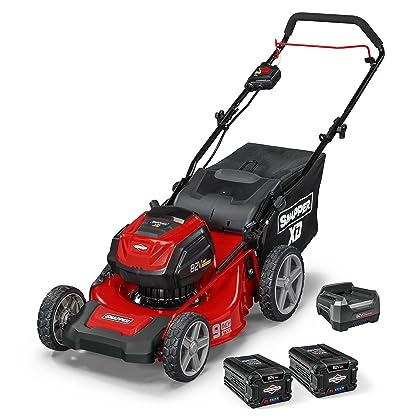 "Snapper XD 82V MAX Cordless Electric 19"" Push Lawn Mower"