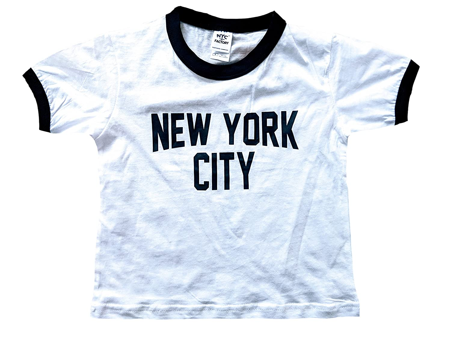 Amazon Com New York City Toddler John Lennon Ringer Nyc Baby Tee