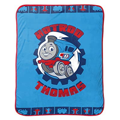 Thomas the Tank Engine Go Go Fleece Throw: Home & Kitchen