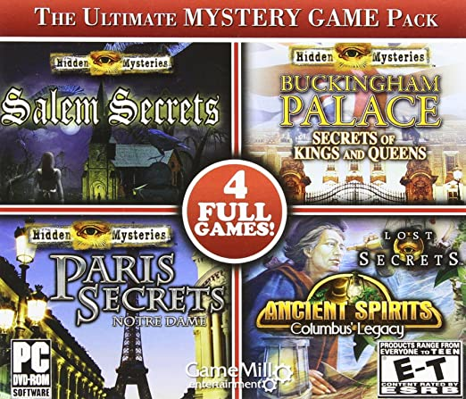 The Ultimate Mystery Game Pack 4 Full Games PC: PC: Computer and
