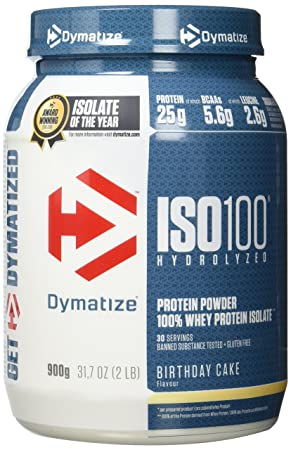 Dymatize Whey Protein Hydrolysat Isolat Premium Eiweisspulver Shake 900 G Birthday