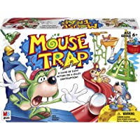 Hasbro Gaming 4657 Mouse Trap Board Game For Kids Ages 6 and Up (Amazon Exclusive),White,red,blue,yellow