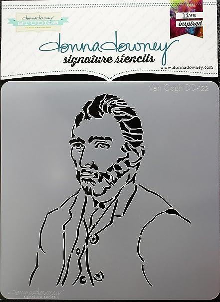 "Donna Downey Stencils DD-128 Signature 8.5/""X8.5/""-Orbital"