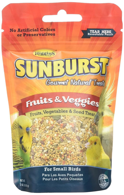 Higgins Group Higgins Sunburst Fruit/Vegetable Small 3 oz Treat, 1Count, One Size TopDawg Pet Supply 466017