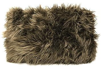 Cojín Furry marrón pelo suave Zambaiti imitat1 pieza CA 50 x ...