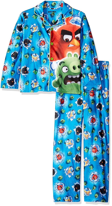 Angry Birds boys Big Boys Sleepwear Coat Set K182572AB