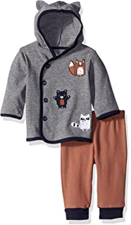 77bb67db39bd Amazon.com  Rene Rofe Baby Girls  2 Piece Hooded Cardigan and Pant ...