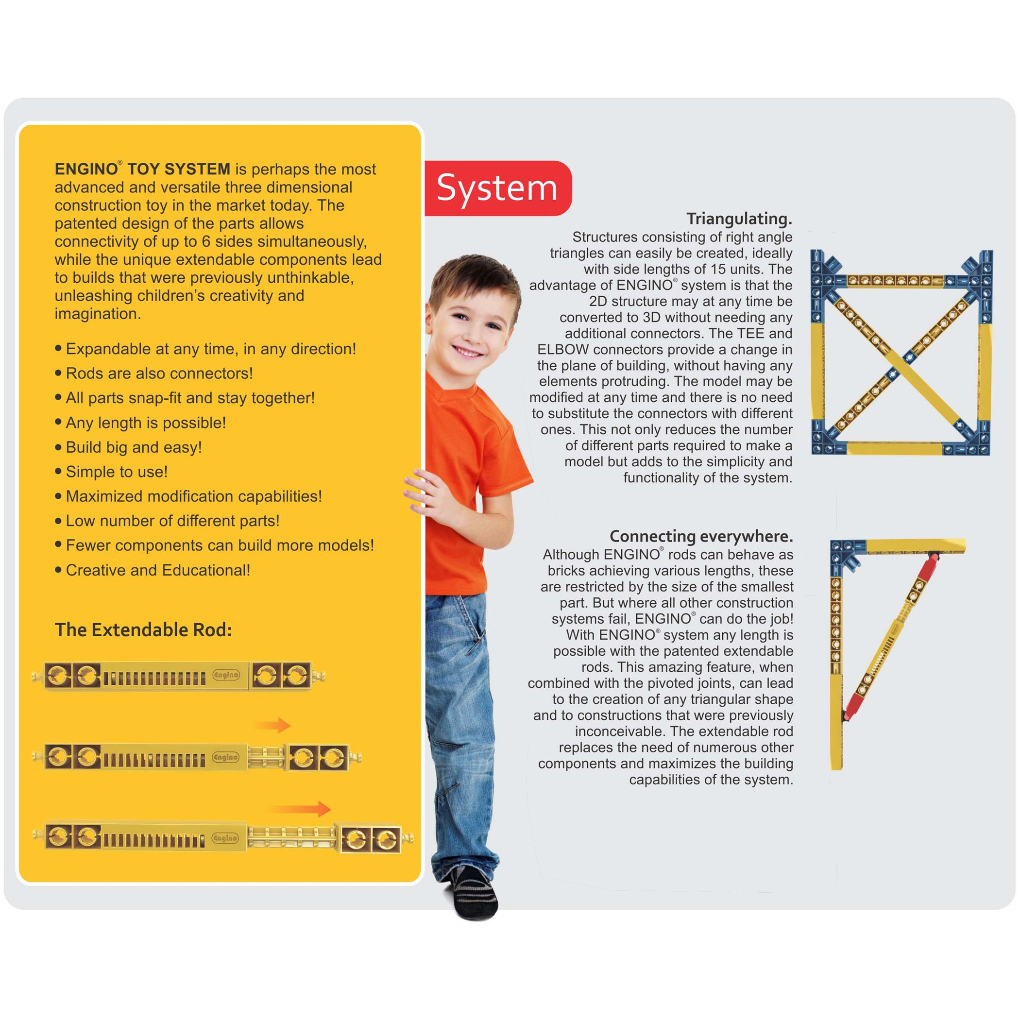 Engino Discovering STEM Simple Machines Mechanisms That Multiply Force Construction Kit by Engino (Image #11)