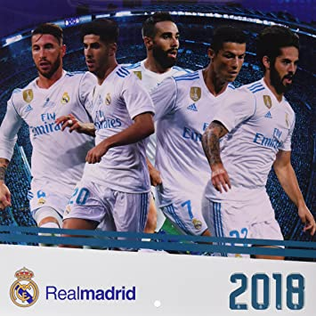 Calendrier Madrid.Grupo Erik Editores Real Madrid Calendrier 2018 30 X 30