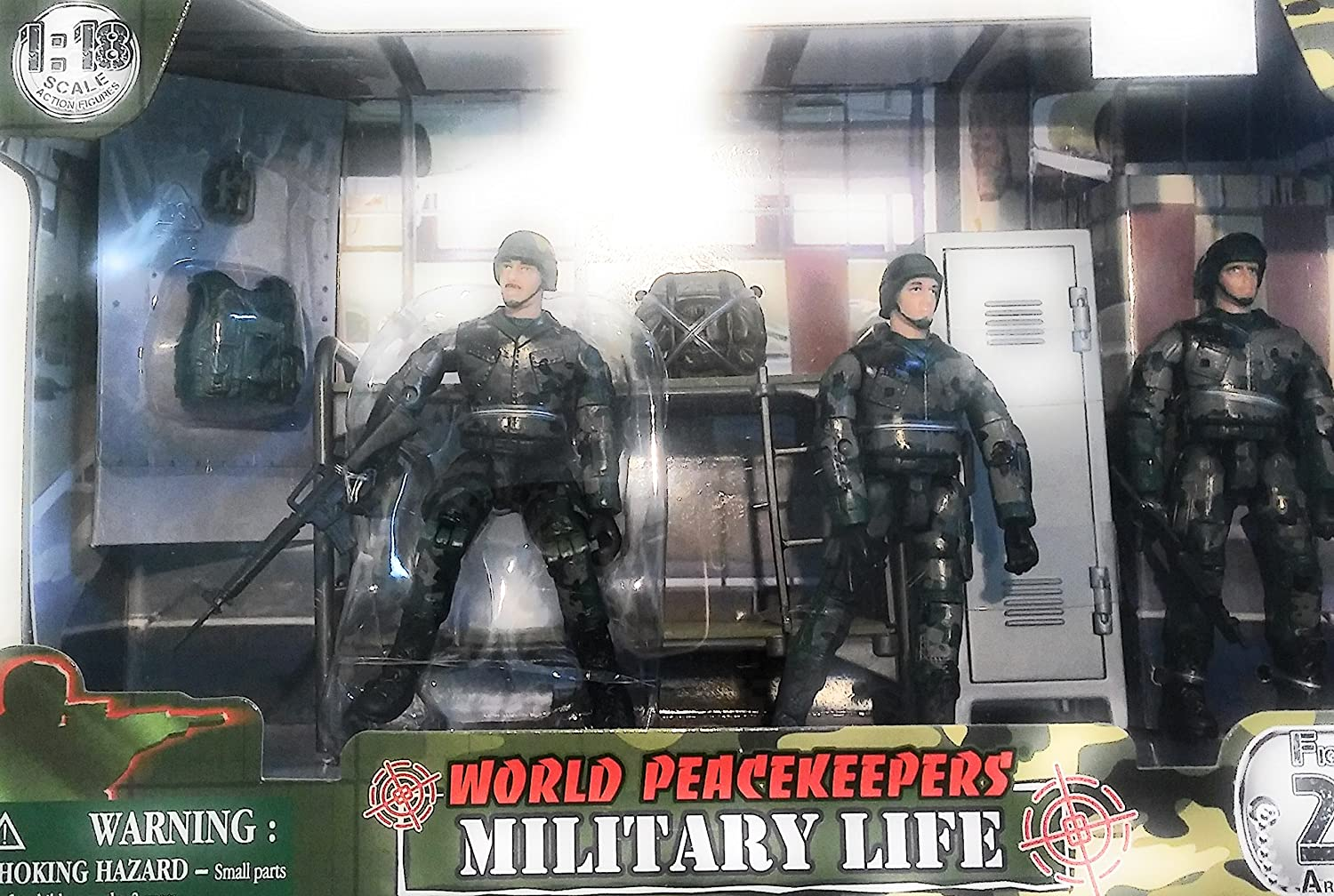 Made in China LOCKER ROOM WORLD PEACEKEEPERS MILITARY LIFE